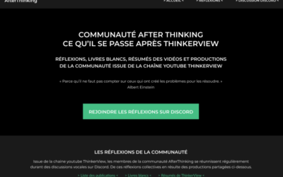 LE SITE INTERNET AFTER THINKING